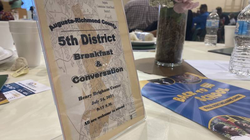 City leaders talk the future of Augusta at District 5 community breakfast
