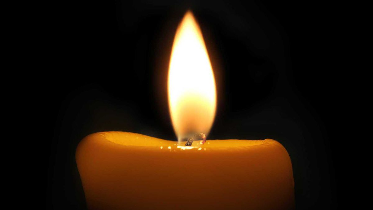 Candle in Dark Room. (Gray News)