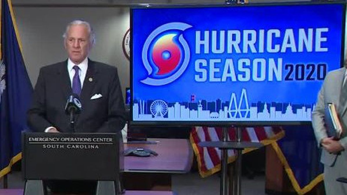 South Carolina Gov. Henry McMaster and other state officials discussed hurricane preparedness at a Thursday news conference.